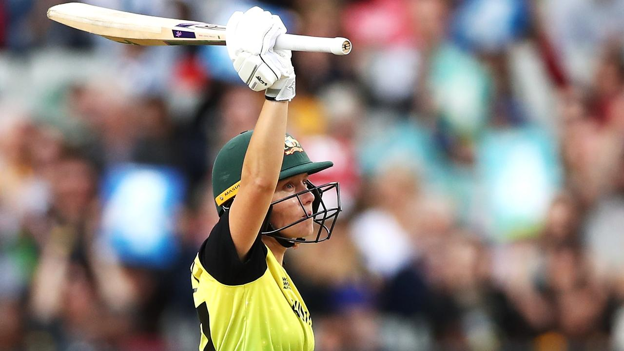 Alyssa Healy set the tone for Australia from ball one and didn't let up from there.