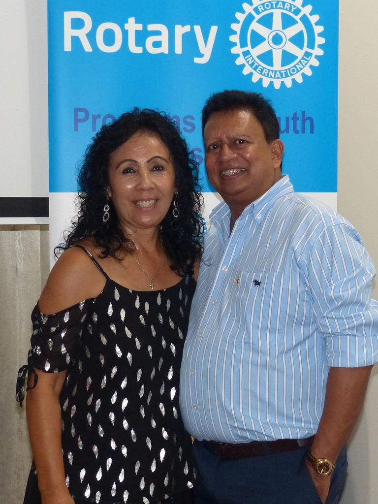 Cheryl Royal-Scott and Andy Rajapakse