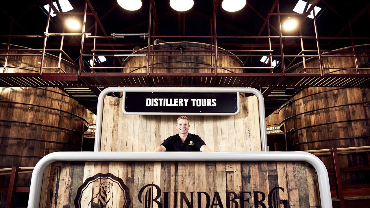 GOLDEN MOMENT: Bundaberg Rum bring home gold at the Qantas Australia Tourism Awards.