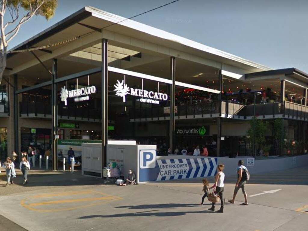 The Woolworths supermarket in Bryon Bay allegedly targeted by the teens.