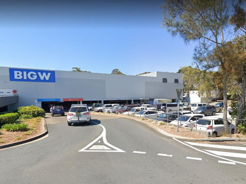 The Big W Tweed City store where the gang allegedly stole items.
