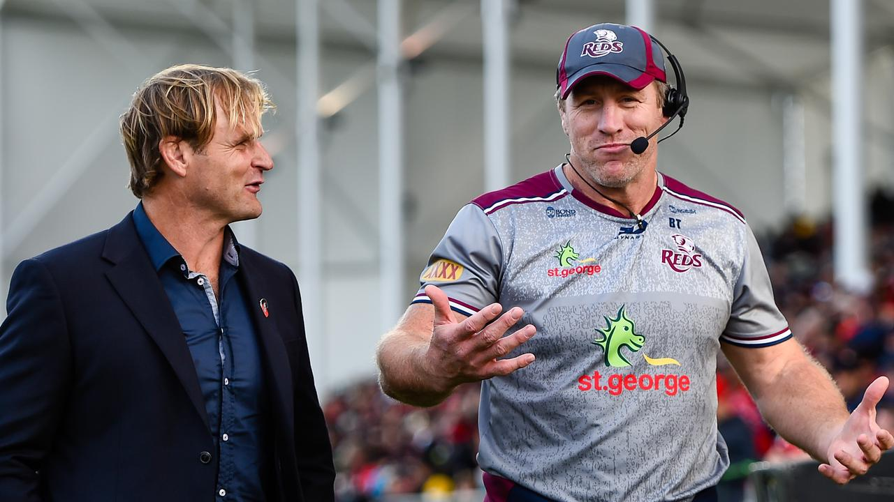 Queensland Reds head coach Brad Thorn has a world of hurt on his hands. Picture: AAP