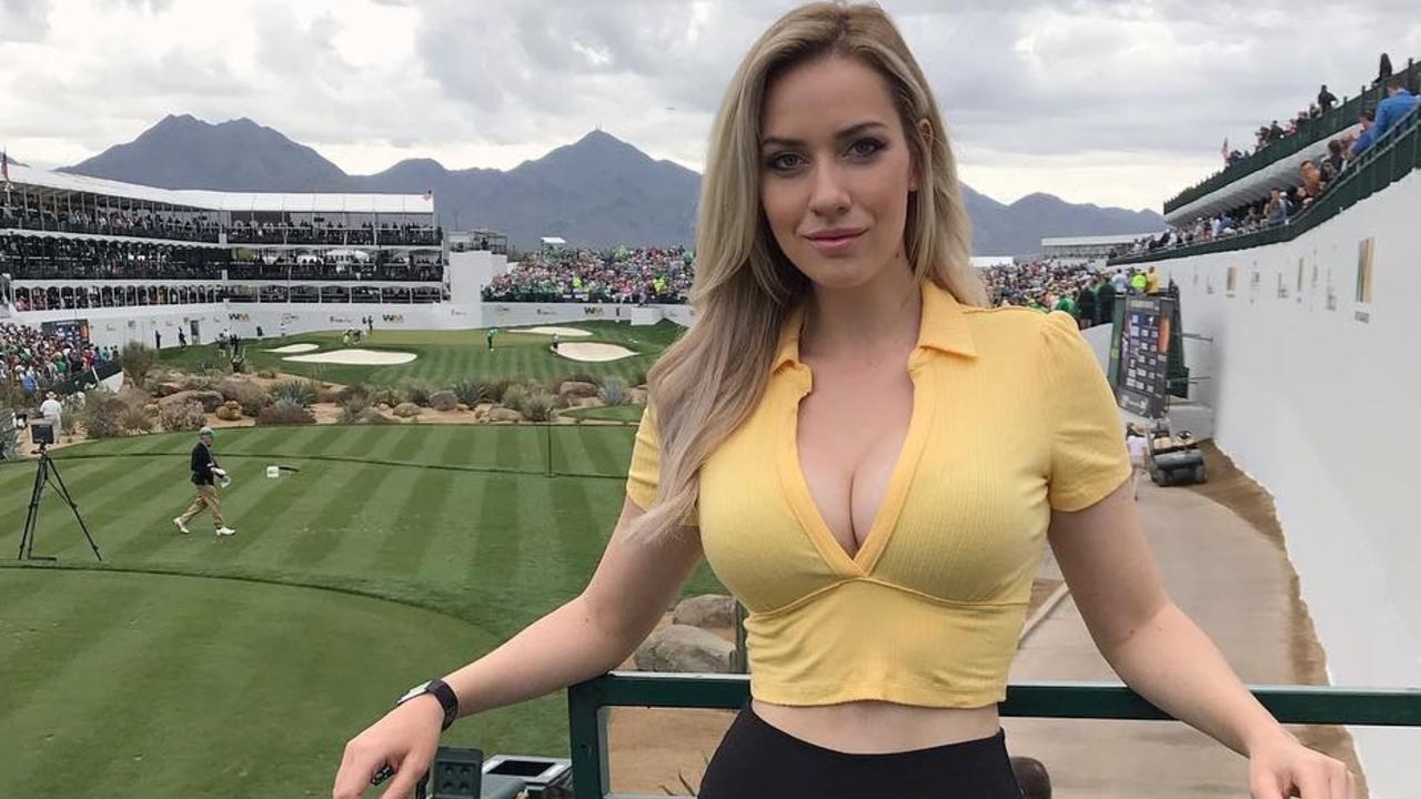 Paige Spiranac has slammed golf's hypocrisy.