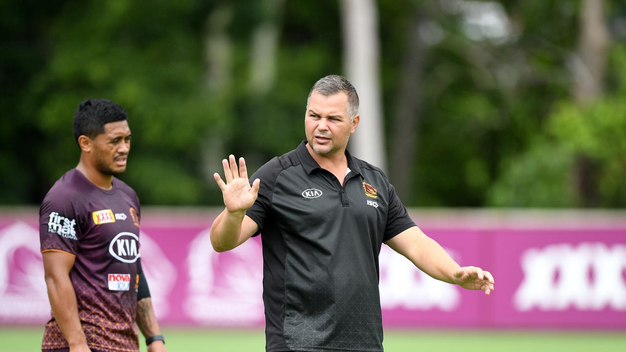 Brisbane Broncos Training Session & Media Opportunity