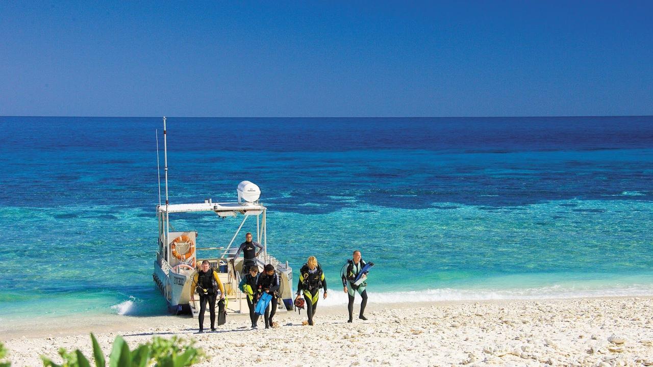 SILVER LINING: Lady Elliot Island Eco Resort take out silver for ecotourism at the Qantas Australia Tourism Awards.