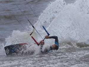 Beaches closed as 61km/h winds slam Coast