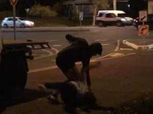 Video: Youths attack couple as they try to leave in taxi