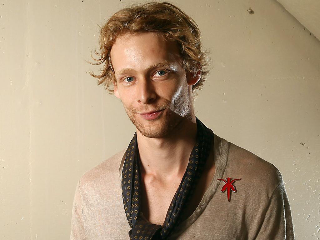 Late actor Johnny Lewis was Katy's first serious boyfriend. Picture: AP Photo/Carlo Allegri