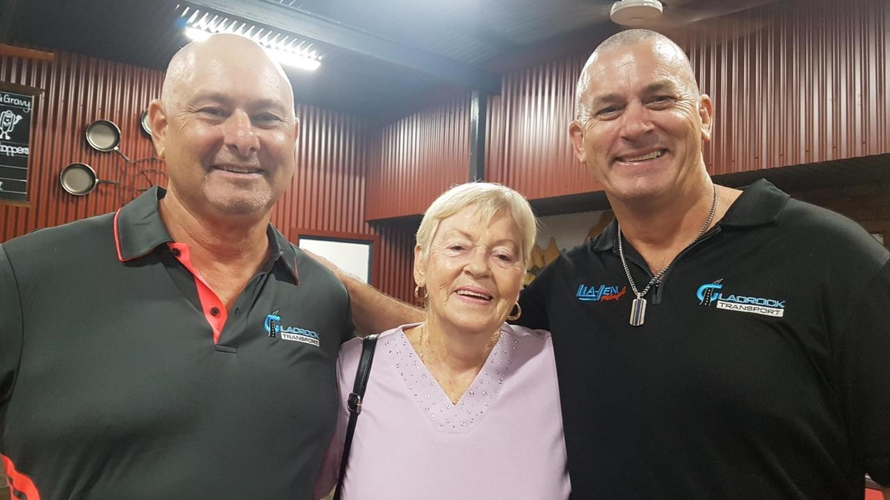 Paul Webster, Diane Webster and Jason Busk