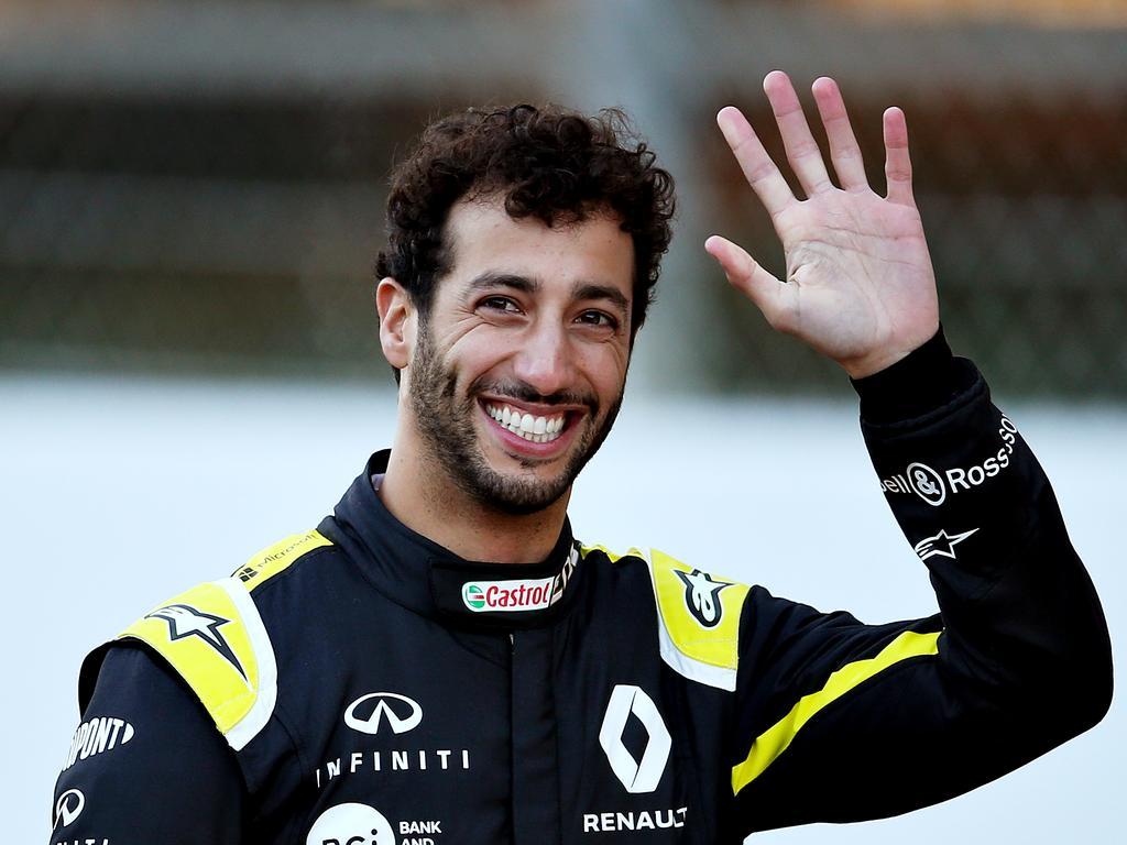 Daniel Ricciardo finished ninth in the 2020 F1 championship
