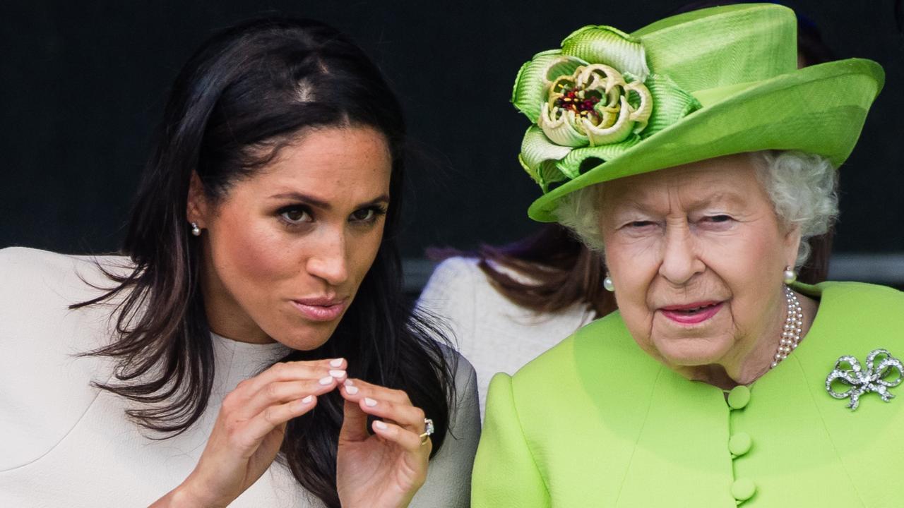 Meghan and the Queen in June 2018. Picture: Samir Hussein/Samir Hussein/WireImage