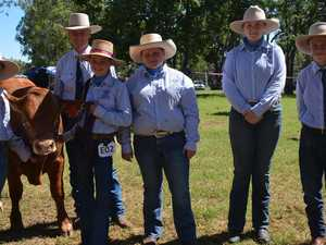 CATTLE SHOW: Ag students step up at Proston Show