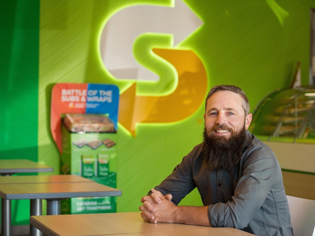 Mark Johnston, owner of seven Subway franchises in Toowoomba.