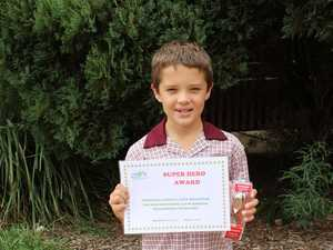 9yo kid saves man struggling to swim at Gatton pool
