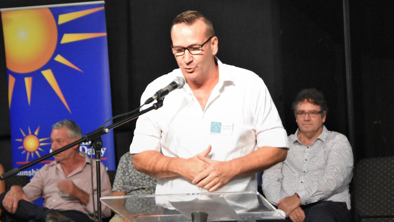 ELECTION FORUM: Noosa Council candidate Andrew Squires. Photo: Caitlin Zerafa