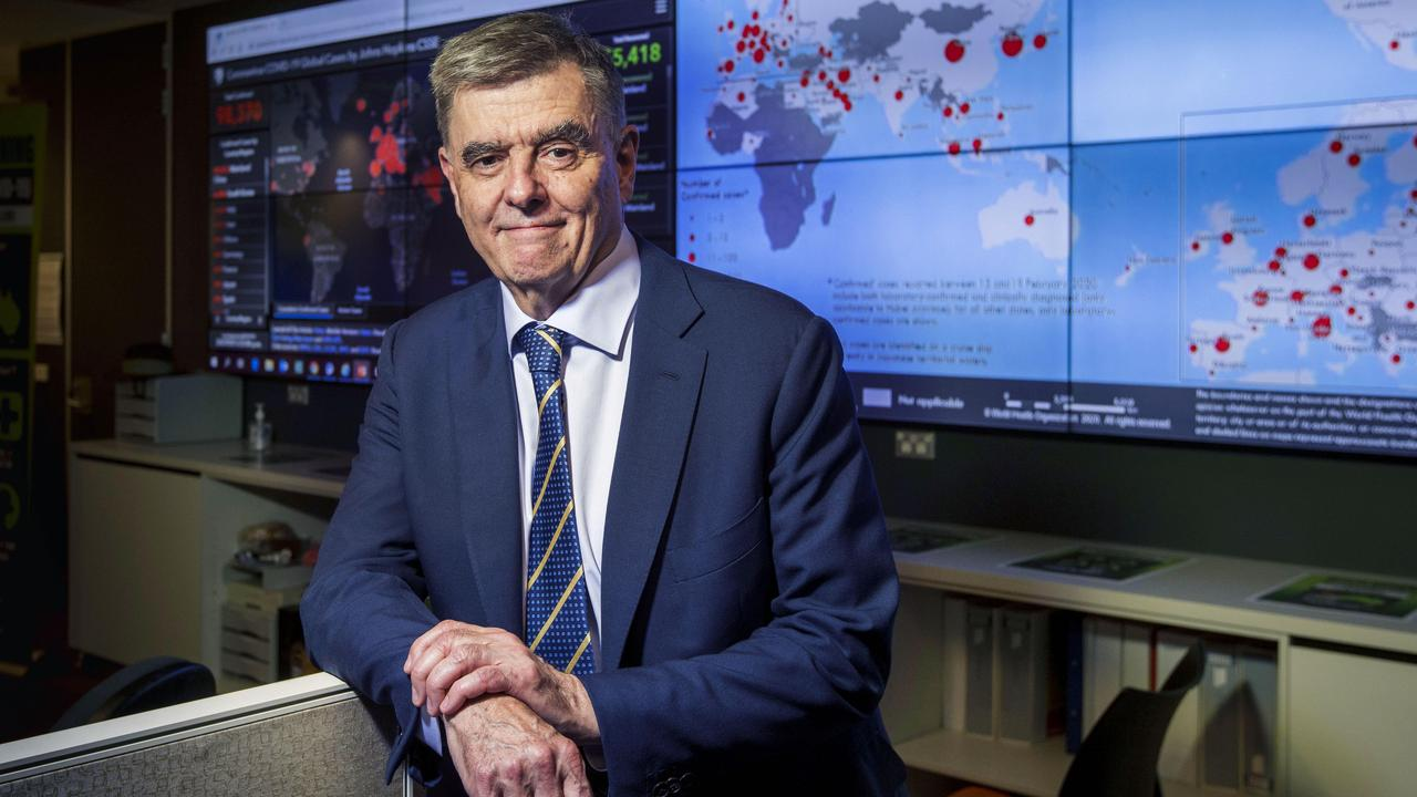 Australia's Chief Medical Officer Professor Brendan Murphy.