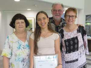 Bursary gives boost to talented CQU performer