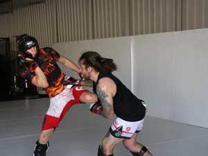 Rings MMA gym action