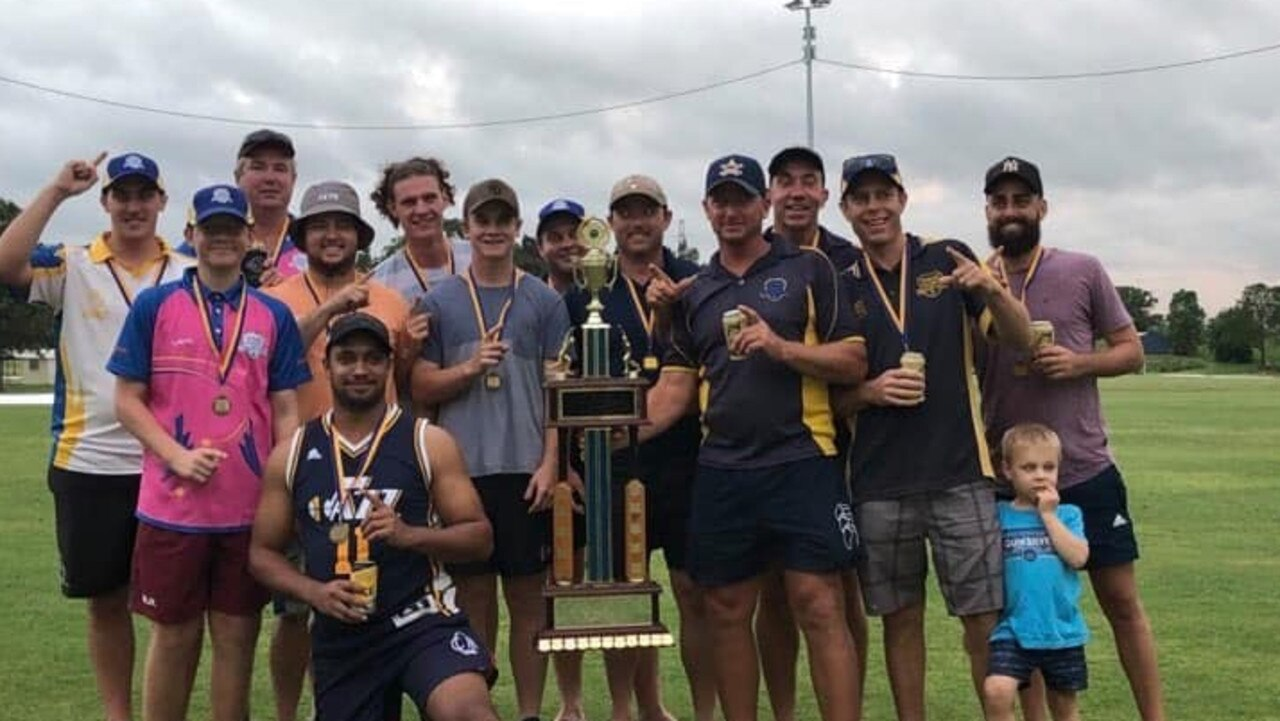 WINNERS: The Murgon District A Grade cricketers are the 2020 Gympie Regional Cricket Premiers. (Picture: Lehman Brunjes)