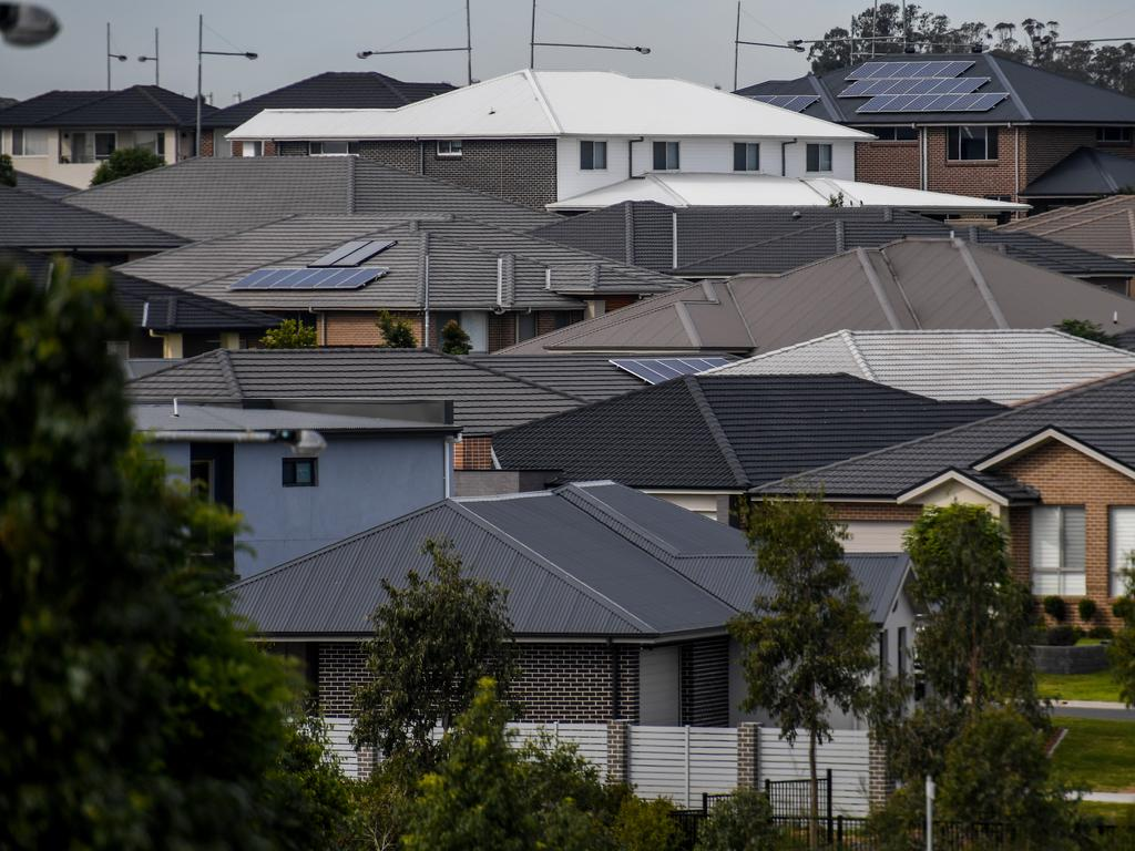 A huge number of people are moving to Sydney's western regions, where temperatures are forecast to soar in coming decades. Picture: AAP