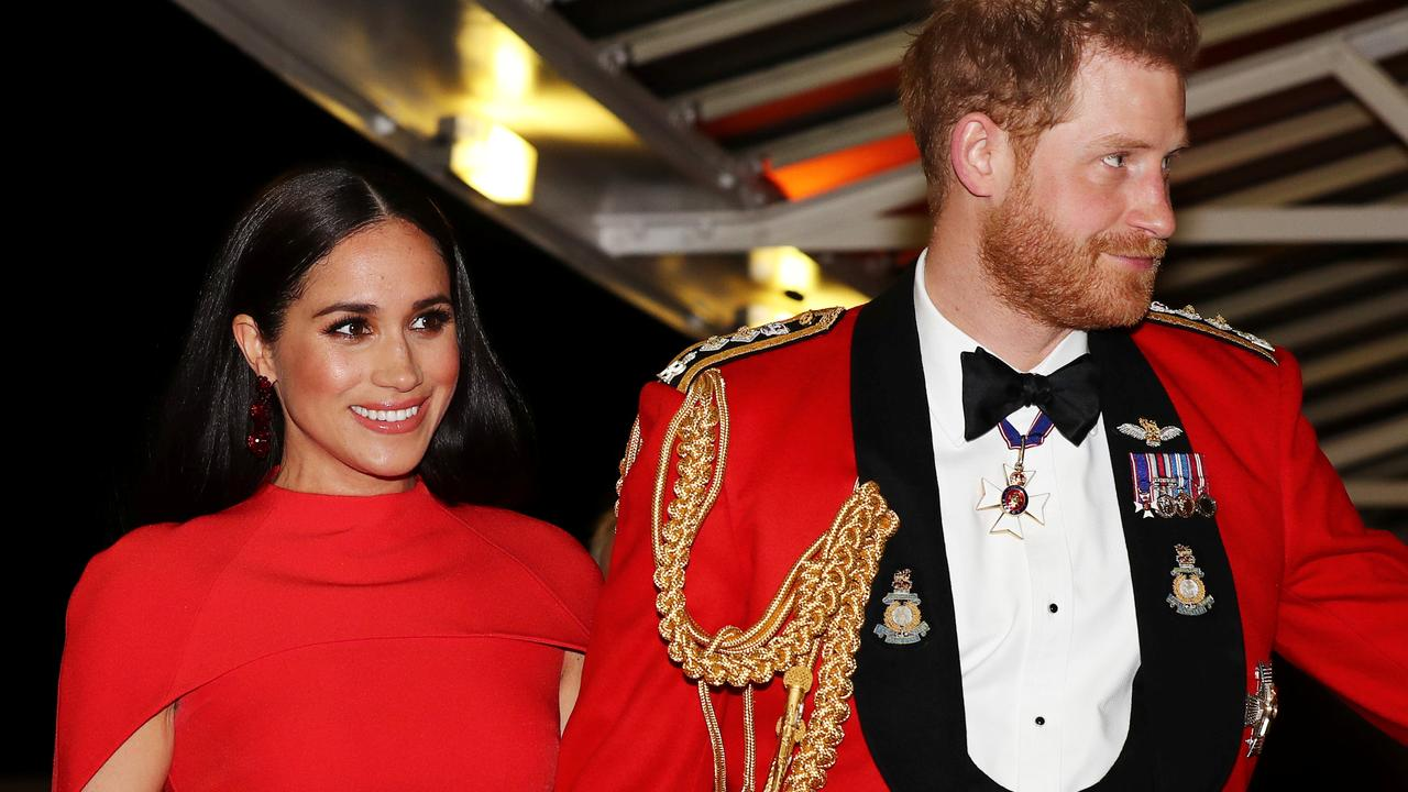 The couple stunned at the Mountbatten Music Festival. Picture: Simon Dawson – WPA Pool/Getty Images