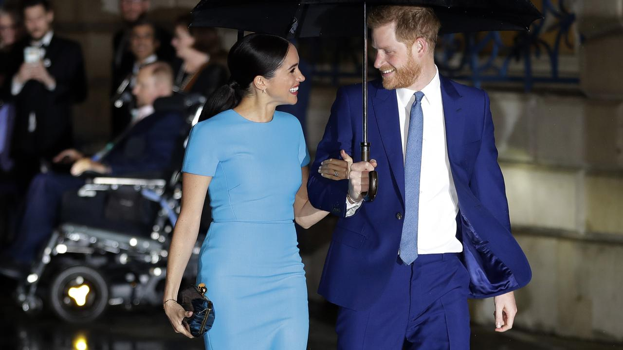 Meghan and Harry are undertaking their last official royal duties in Britain. Picture: AP Photo/Kirsty Wigglesworth, file
