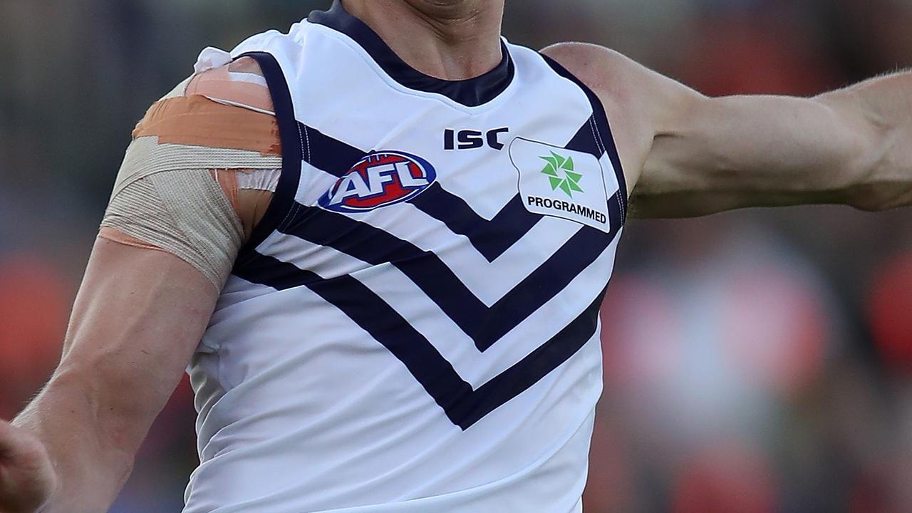 A Fremantle player will be tested for coronavirus.