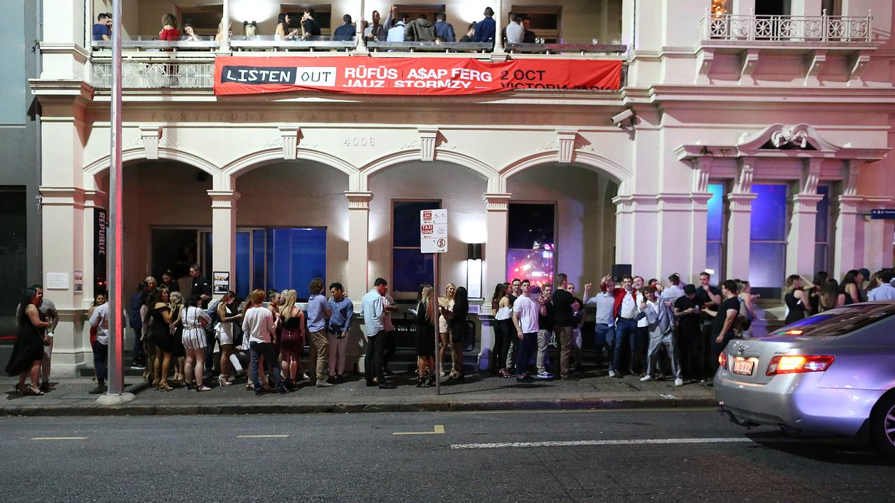 The GPO Hotel in Fortitude Valley was fined $5000 for two breaches of the Liquor Act 1992. Picture: Jack Tran