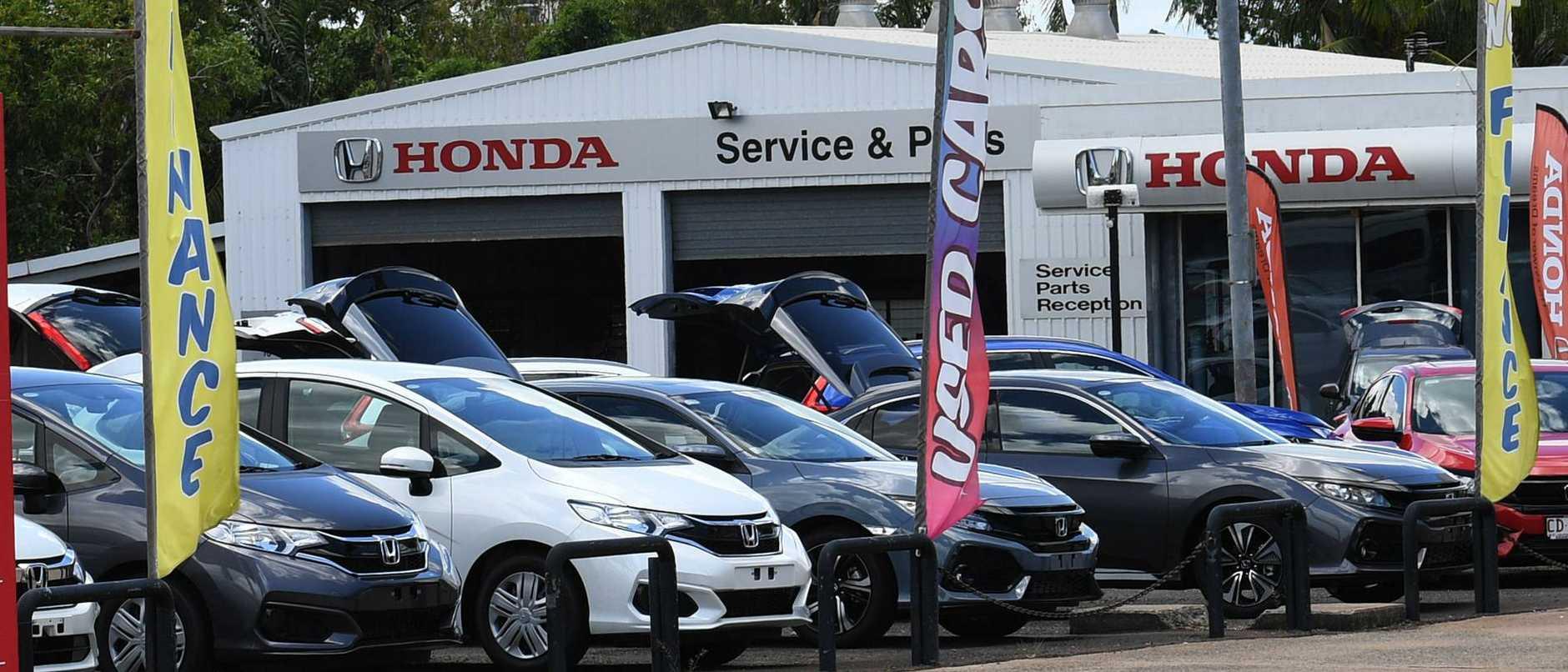Honda Dealership site shot