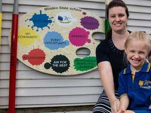 Six generations walk Minden school halls