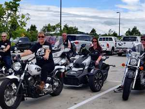 Bikers unite for mental health awareness