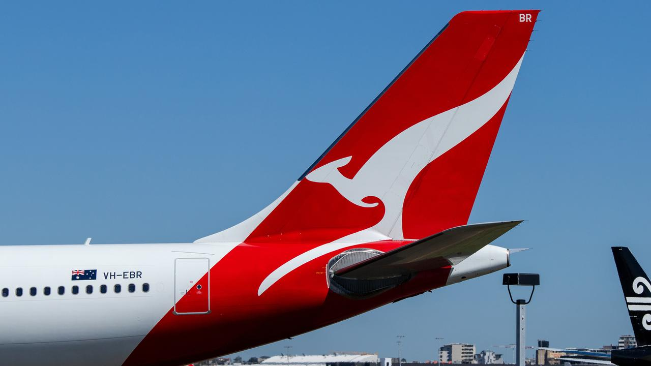 Qantas is re-routing a number of their flights amid the outbreak.