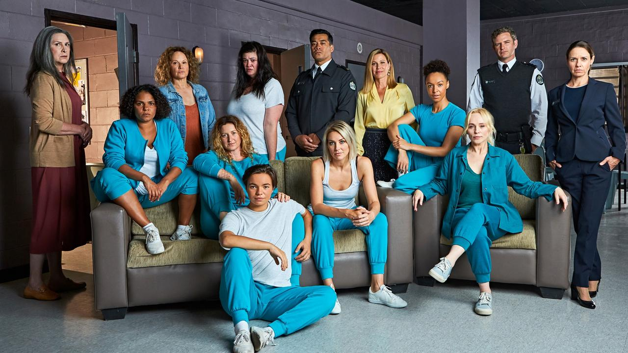 The season 8 cast of Wentworth.