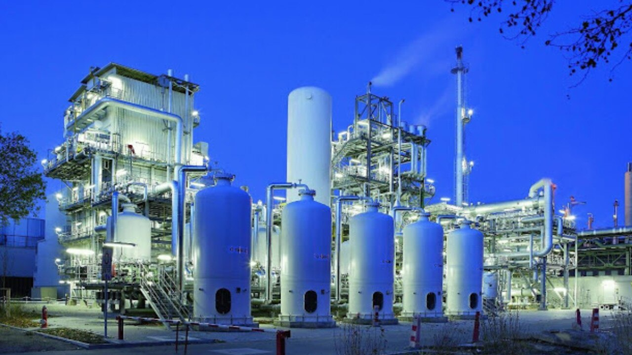An example of a hydrogen plant.