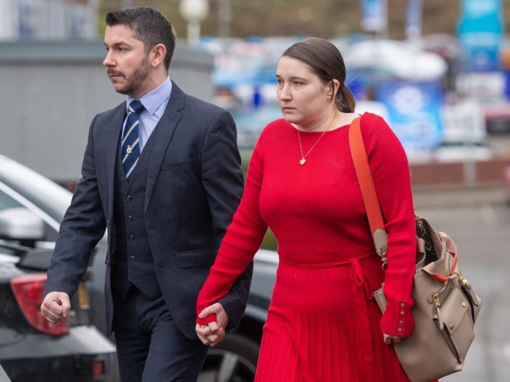 Ava-May's parents gave emotional testimony at the inquest. Picture: AAP / Press Association