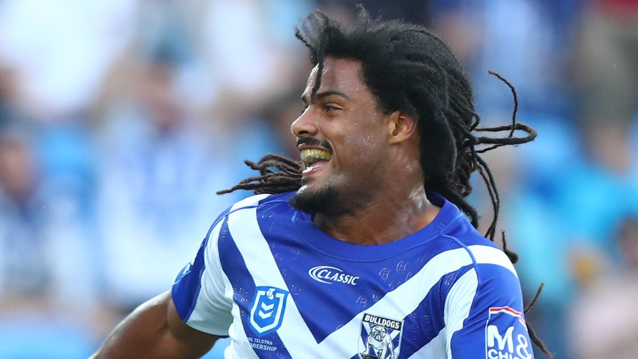 Jayden Okunbor will also miss the match against the Eels. Picture: Chris Hyde/Getty Images