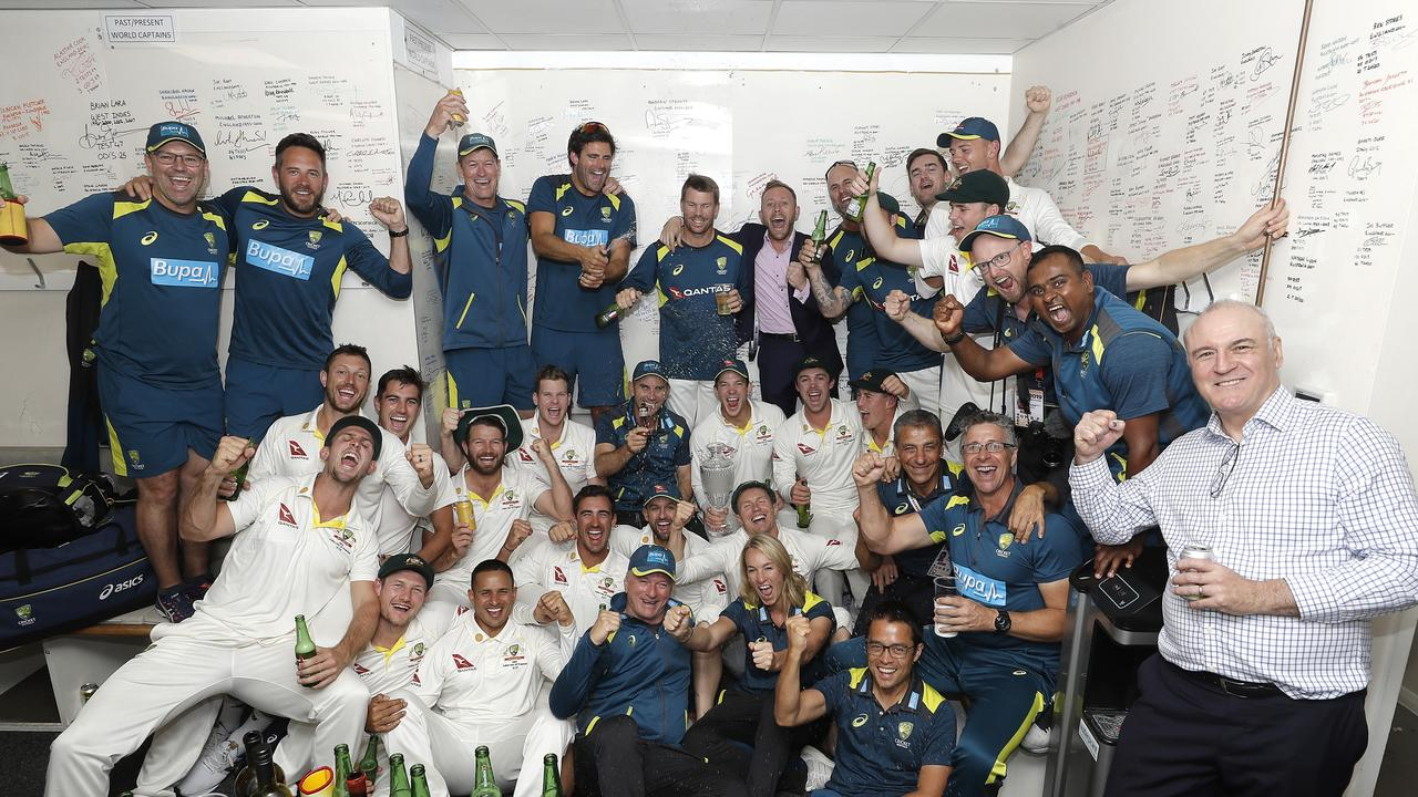 Australia after victory at The Oval. Picture: Ryan Pierse/Getty