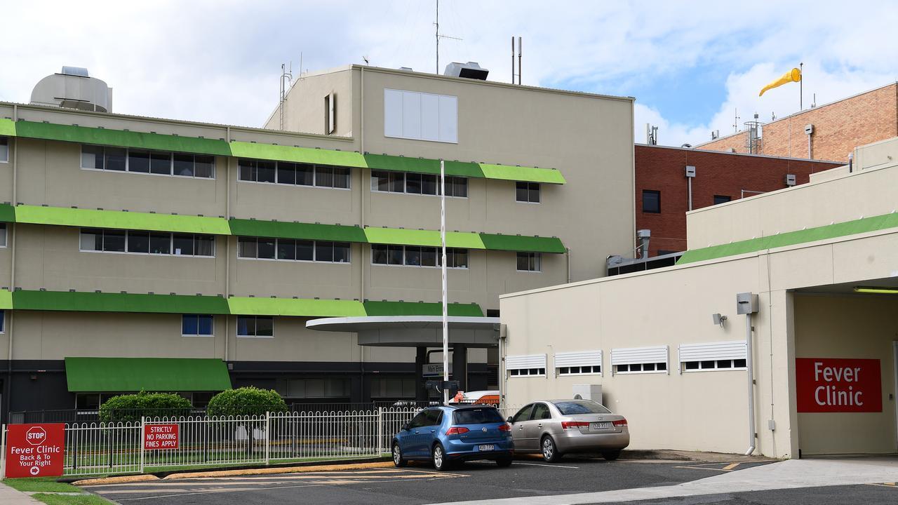 Fever Clinic at the Bundaberg Hospital.