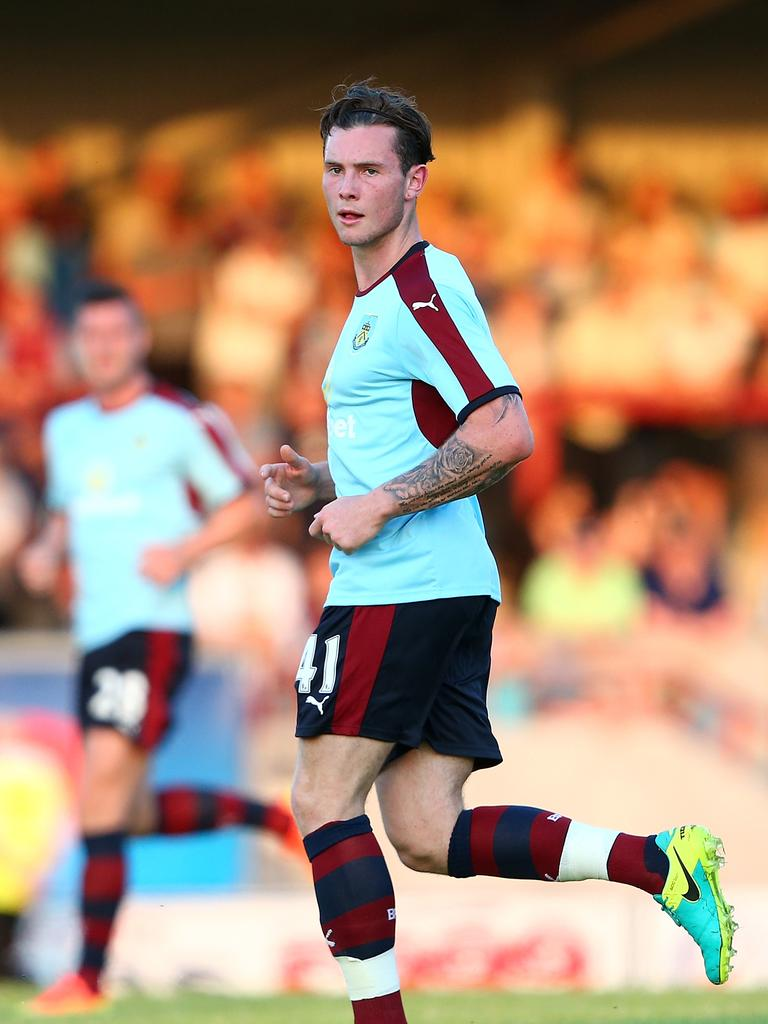 Aiden O'Neill playing for Burnley in 2016 (Photo by Jan Kruger/Getty Images)