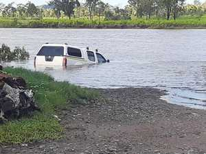 High Tide Havoc: 4WD towed from Calliope River