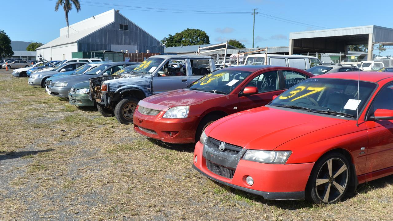 Here S Where Cars Are Abandoned In Mackay Daily Mercury