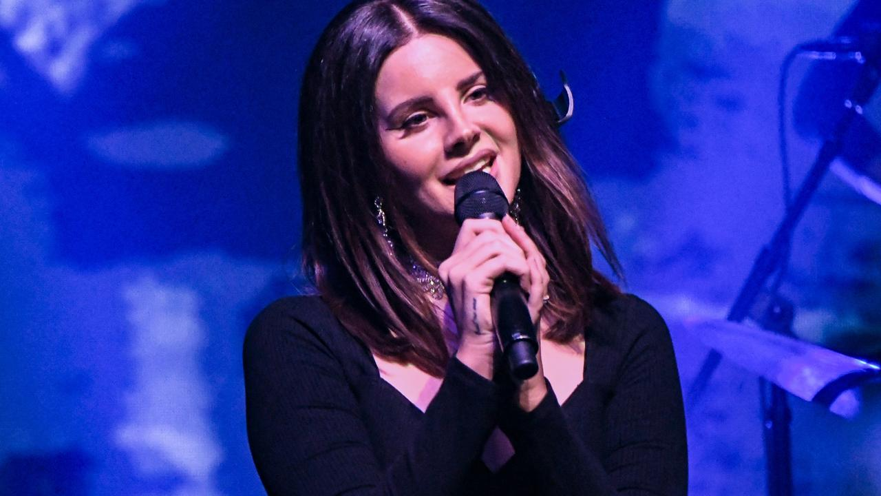 Singer Lana Del Rey is one of the Coachella performers for 2020. Picture: Mike Coppola/Getty Images