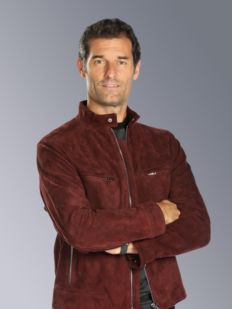Ten Sports F1 presenter Mark Webber. Supplied by Channel 10.