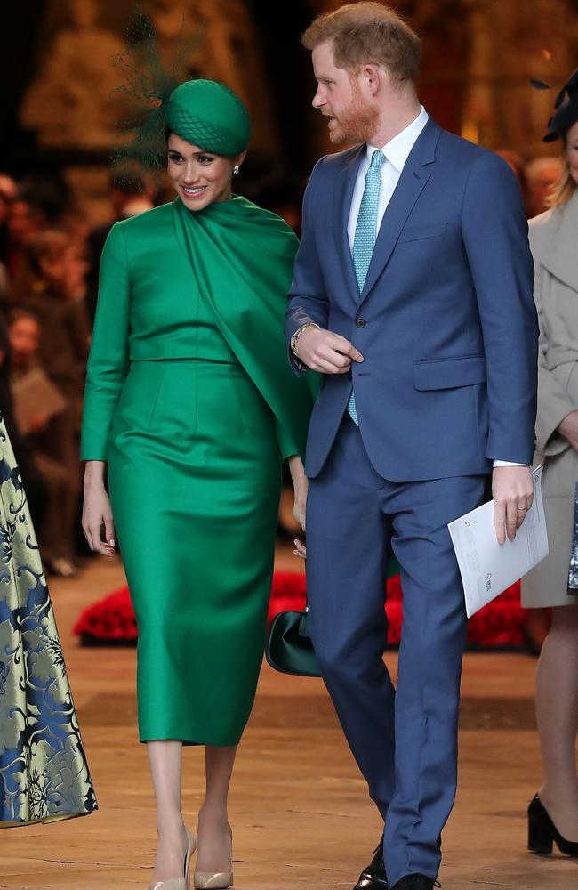 It was the couple's last official royal appearance. Picture: Chris Jackson/Getty Images