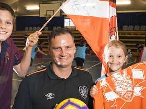 Roar builds regional football ties