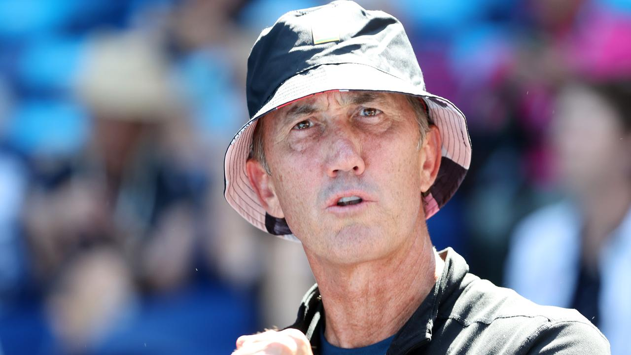 Tennis coach Darren Cahill says the cancellation of the Indian Wells Masters event has left the sport in limbo. Picture: Michael Klein