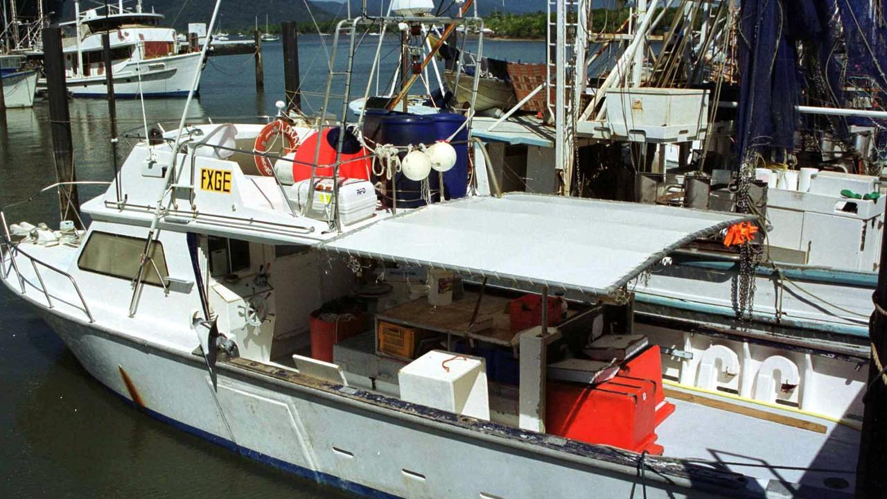 AUGUST 30, 2000: Fishing boat