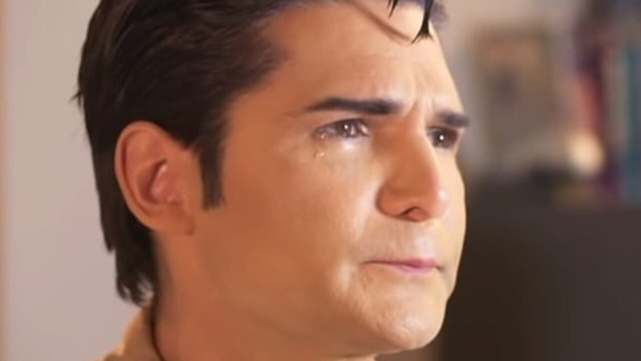 Corey Feldman in his new documentary about paedophiles in Hollywood called (my) Truth: The Rape of Two Coreys. Picture: Supplied