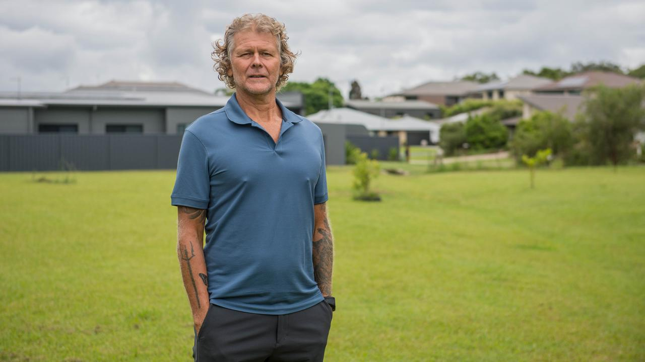 Anthony Cougle has not given up on his plans for a major development at Moonee Beach. Photo by Rachel Vercoe