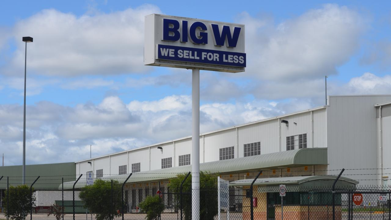 END OF AN ERA: The Big W Distribution Centre on East St will close in 2023 when the company's lease is up.